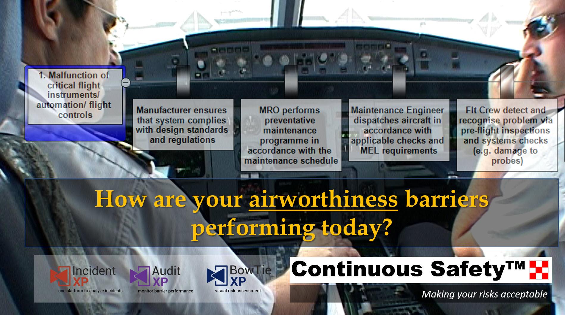 Airworthiness barriers mycs.swiss